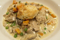 How To Make Creamed Chicken And Biscuits
