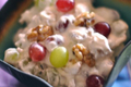 How To Make Creamy Grape And Walnut Salad