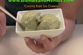 How To Make Kale And Banana Vegan Ice Cream