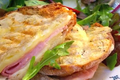 Grilled Croque Monsieur Sandwich