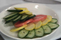 Cucumber and Zucchini Salad