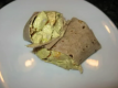 Curried Chicken Tortilla Wrap