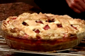 Lattice-topped strawberry-rhubarb Deep-dish Pie