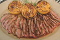 How To Make Delicious Garlic Fennel Flank Steak With Grilled Oranges
