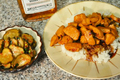 Divas can cook Bourbon Chicken