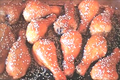 Oven Baked Apple Sesame Chicken Drumsticks