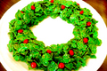 Cornflake Christmas Wreath Cookies