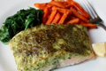 How To Make Easy Herb Crusted Salmon