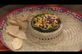 How To Make Peach And Bean Salsa With Tortilla Chips