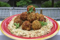 How To Make Falafel And Hummus Platter