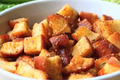 Garlic Parmesan Croutons