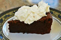 Flourless Chocolate Cake. Rich, Decadent Dessert Topped With Kahlua Whip Cream by Rockin Robin