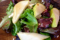 Fresh Feta Salad With Pears And Whole Nuts