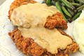 How To Make Chicken Fried Steak With White Peppered Gravy
