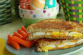 How To Make Fried Egg & Cheese Sandwich