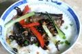 Black Beans Mackerel Porridge 