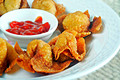 How To Make Fried Wontons And Homemade Duck Sauce