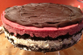 How To Make Sorbet Cake With Chocolate Glaze