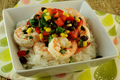 Garlic Lime Shrimp with Black Bean and Corn Salad Recipe Video