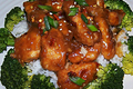 Oven Fried General Tso's Chicken