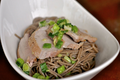 How To Make Ginger Scallion Noodles With Roasted Pork Tenderloin