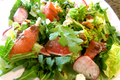How To Make Arugula, Grapefruit, And Goat Cheese Salad