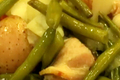 Green Beans Red Potatoes and Onion Stew