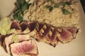 How To Make Grilled Ahi Tuna With Wasabi Butter