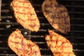 Chicken Breasts Barbecued with Brown Sugar