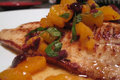 Grilled Mandarin Orange Pork Chops with Citrus Relish