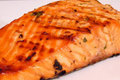 How To Make Grilled Salmon With Potato Latkes And Eggs