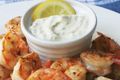 Grilled Shrimp with Cured Lemon Aioli