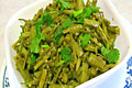 How To Make Guvar Nu Shaak - Cluster Beans