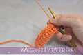 Half Double Crochet Tutorial #6: HDC in Front Loop Only