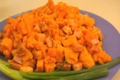 Ham and Sweet Potato Skillet
