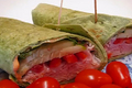 How To Make Ham Turkey Spinach Tortilla Wraps