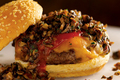 How To Make Healthy Beef, Red Bean And Mushroom Hamburger