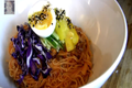 Healthy : Kimchi Bibim Guksu with Clear Soup (Soup) : Korean Food : Asian at Home