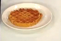 Heart-Healthy Sweet Potato and Pecan Waffle