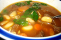 How To Make Hearty Spinach White Bean Soup