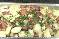 Heisman Red Potato and Vegetable Salad with Grilled Kielbasa