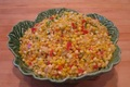 Herbed Tomato Corn And Pepper Saute