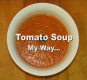 Homemade Basic Tomato Soup