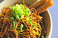 How To Make Honey Garlic Scallion Noodles
