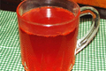 Hot Cranberry Apple Drink