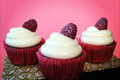 How to Bake Raspberry Champagne Cupcakes