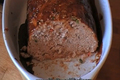 Chicken Meatloaf with Hoisin Glaze