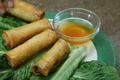 How To Make Vietnamese Pork And Egg Rolls Part 2 - Finalizing And Serving
