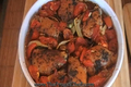 Baked Chicken with Fennel and Tangy Tomatoes