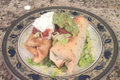 How To Make Chicken Chimichangas Both Fried & Oven Baked